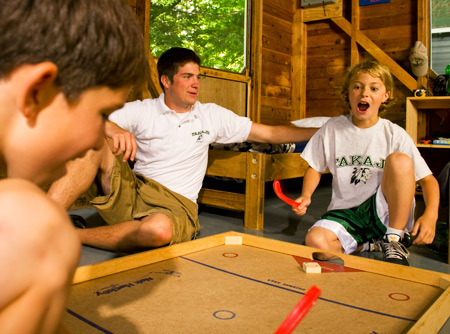 Boys build friendships with their bunkmates through the summer at camp.