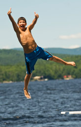 Jump into boys camp at Takajo!