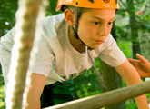 Navigate the Ropes Course and learn team-building