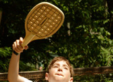Play inside with Paddle Tennis